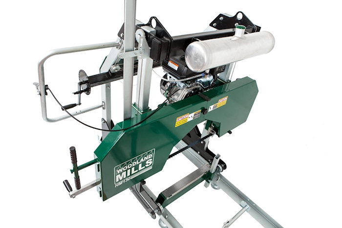 Portable Bandsaw Mill, Woodland Mill from Log Building Tools