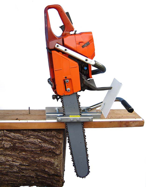 Portable Chainsaw Mill Beam Maker simple vertical wood cutter Beam Machine Steel