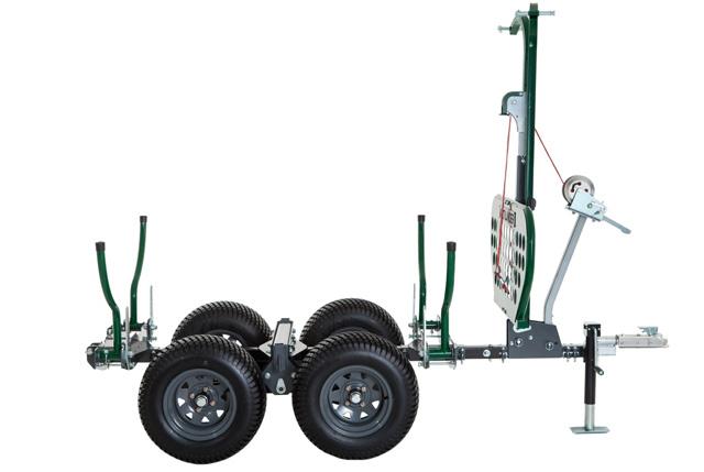 ATV Trailers, Multilander Utility Trailer, Woodland Mill