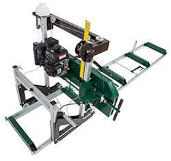 Portable Bandsaw Mill, Woodland Mill from Log Building Tools, Magard