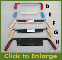 Various Drawknives