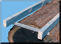 Slabbing rail brackets are used to set up your H-style rail which is